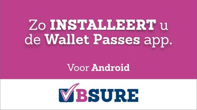 Installeer Wallet Pass - Android