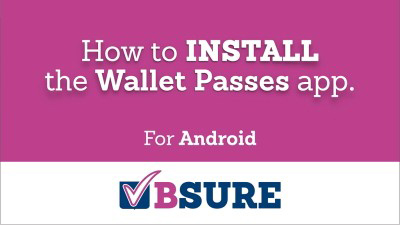 Install Wallet Pass - Android