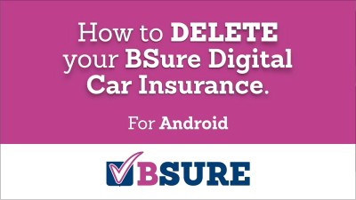 Delete Digital Car Insurance - Android